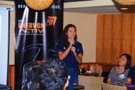Ms. Bianca Sison Cortez, Enervon Activ brand manager.
